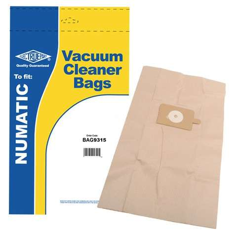 NVM-3BH Vacuum cleaner dust bag Pack of 5 For Numatic WV570