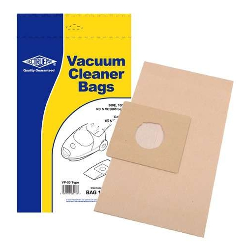 Replacement Vacuum Cleaner Bag For Daewoo RC805A Pack of 5 Type:VP50