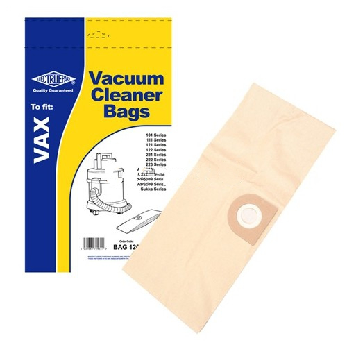 Vacuum Cleaner Dust Bags for Vax 101 111 121 Pack Of 5 1S Type
