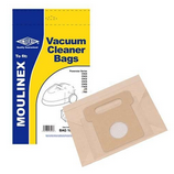 Replacement Vacuum Cleaner Bag For Moulinex Powerstar ACN65328129 Pack of 5