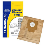 Vacuum Dust Bags for Panasonic MCE7113 MCE7113K MCE7120 Pack Of 5 C2E Type