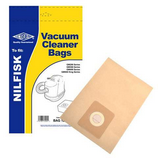 5 x Replacement Vacuum Cleaner Paper Bags For Nilfisk Extreme X100 Type:GM