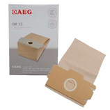 5x AEG Vacuum Cleaner Dust Bags for Grobe13, Cylvampyr, Compact Laser 400