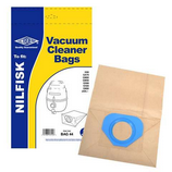 Vacuum Cleaner Dust Bags for Nilfisk GS90 GST GS90C GSD80 Pack Of 5 G Type