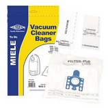 Dust Bag For Miele Classic C1 EcoLine Plus Pack of 5 & Filter Type:GN