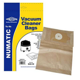 DustBags for Numatic JVH180 JVR225 NB200 Pack Of 5 NVM1B, NVM1C, NVM1C2 Type