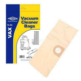 Vacuum Cleaner Dust Bags for Vax 5150 (25 005) 6121C 6121T Pack Of 5 1S Type