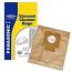 Vacuum Dust Bags for Panasonic MCE852 MCE853 MCE854 Pack Of 5 C2E Type