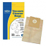 5 x Replacement Vacuum Cleaner Paper Bags For Moulinex 1400 PLUS Type:E67