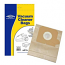 Vacuum Dust Bags for Electrolux 10 20 120 Pack Of 5 E51, E51n, E65 Type